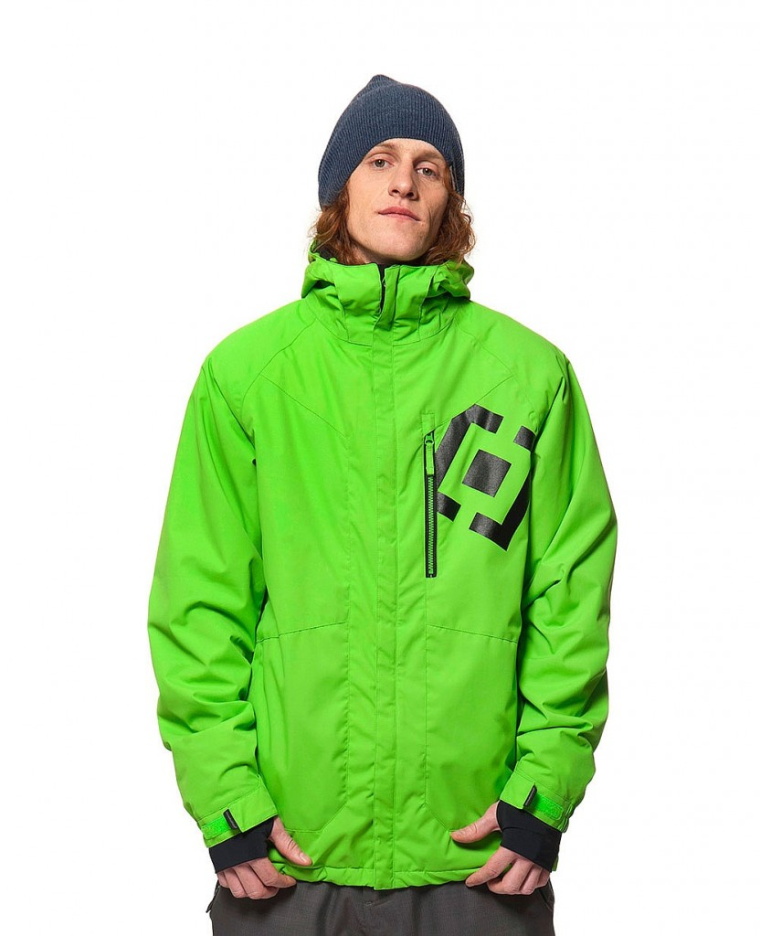 Bunda na snowboard Horsefeaters Tactic green