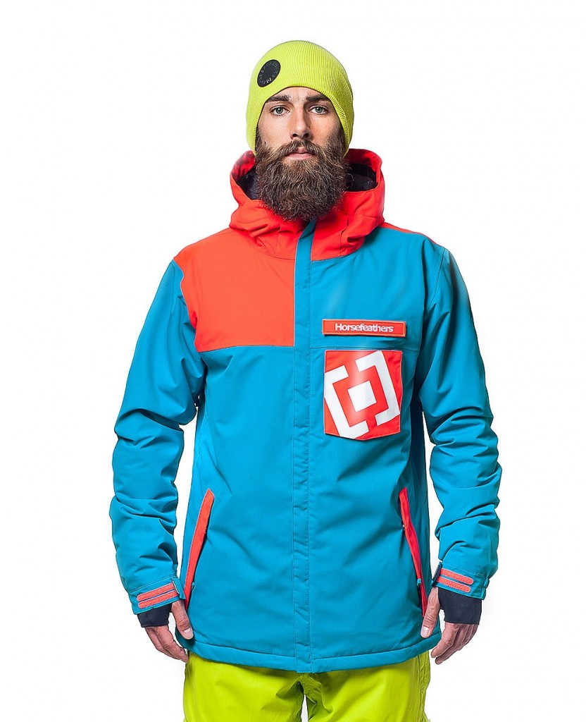 Bunda na snowboard Horsefeathers Solace blue