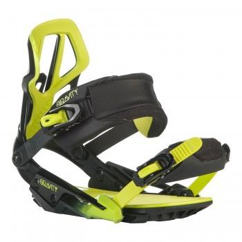 Snowboard vázání Gravity G3 black/lime
