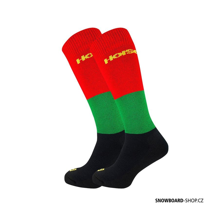 Snowboard ponožky Horsefeathers Trio rasta