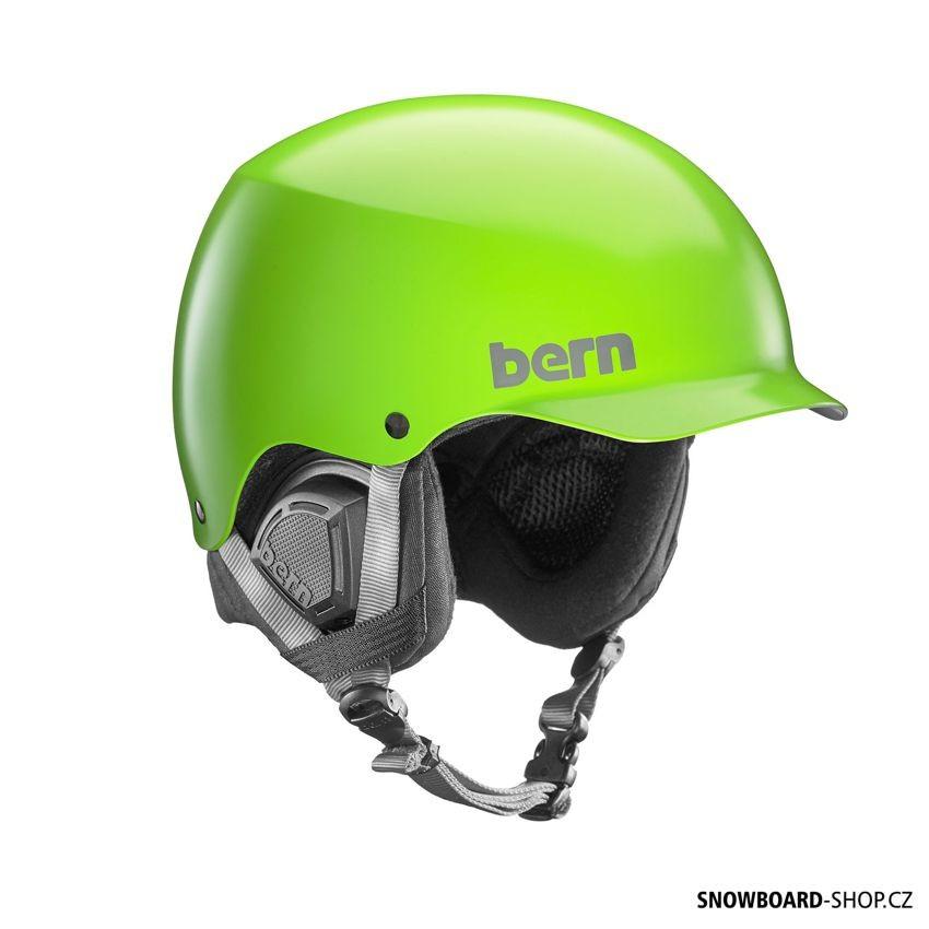 Helma Bern Baker BOA satin neon green