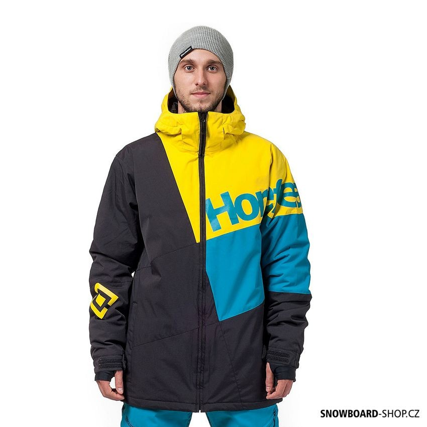 Bunda na snowboard Horsefeathers Pursuit yellow