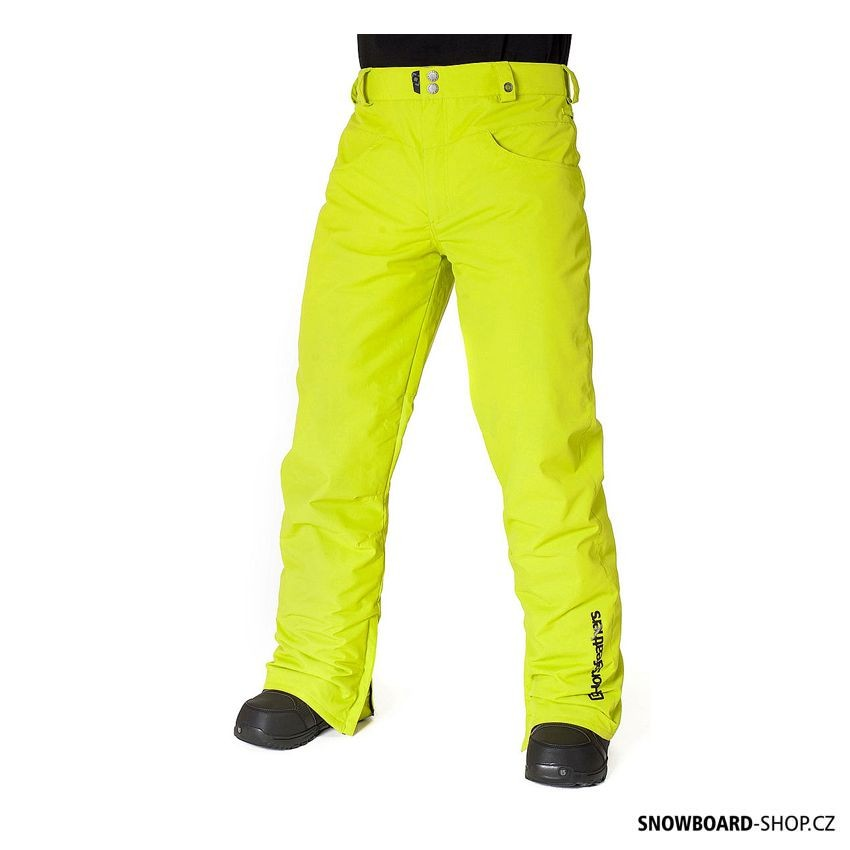 Kalhoty na snowboard Horsefeathers Roulette sulphur