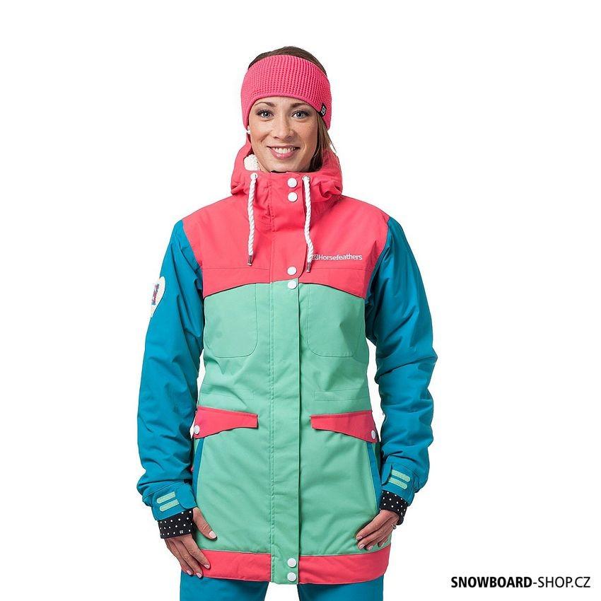 Bunda na snowboard Horsefeathers Nea pink