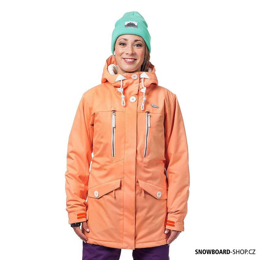 Snowboard bunda Horsefeathers Julia pumpkin