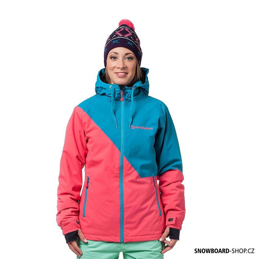 Snowboard bunda Horsefeathers Veronika pink
