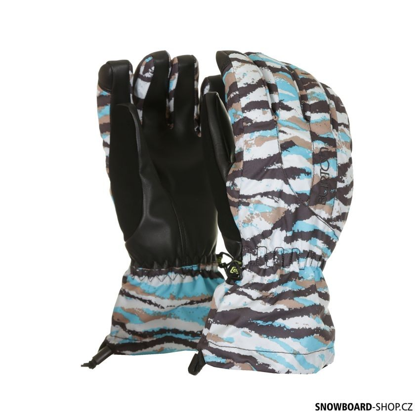 Rukavice Burton Profile Glove Ultra blue tiger