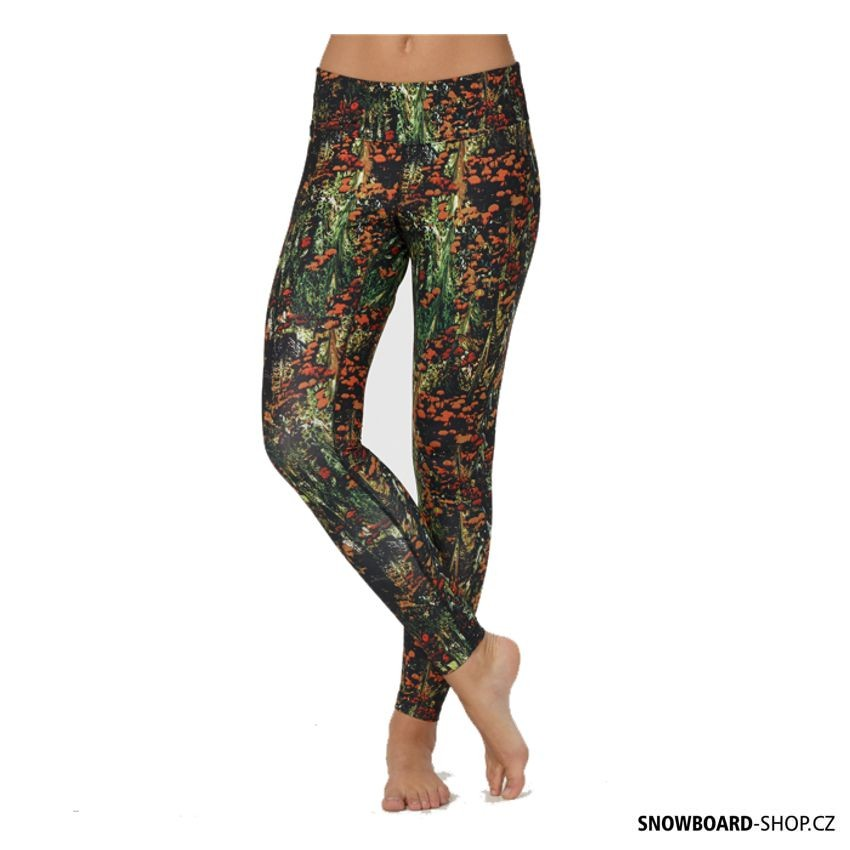 Dámské termo spodky Burton WMS Lightweight Pant acid floral