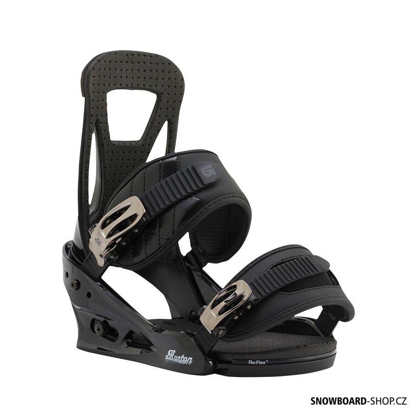 Vázání Burton Freestyle black