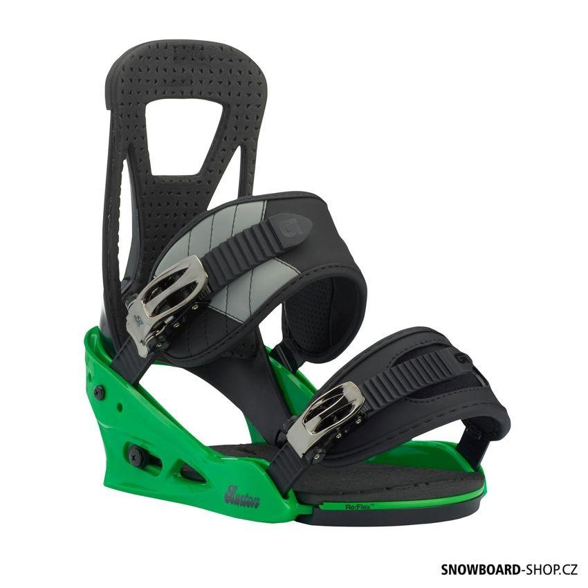 Vázání Burton Freestyle green