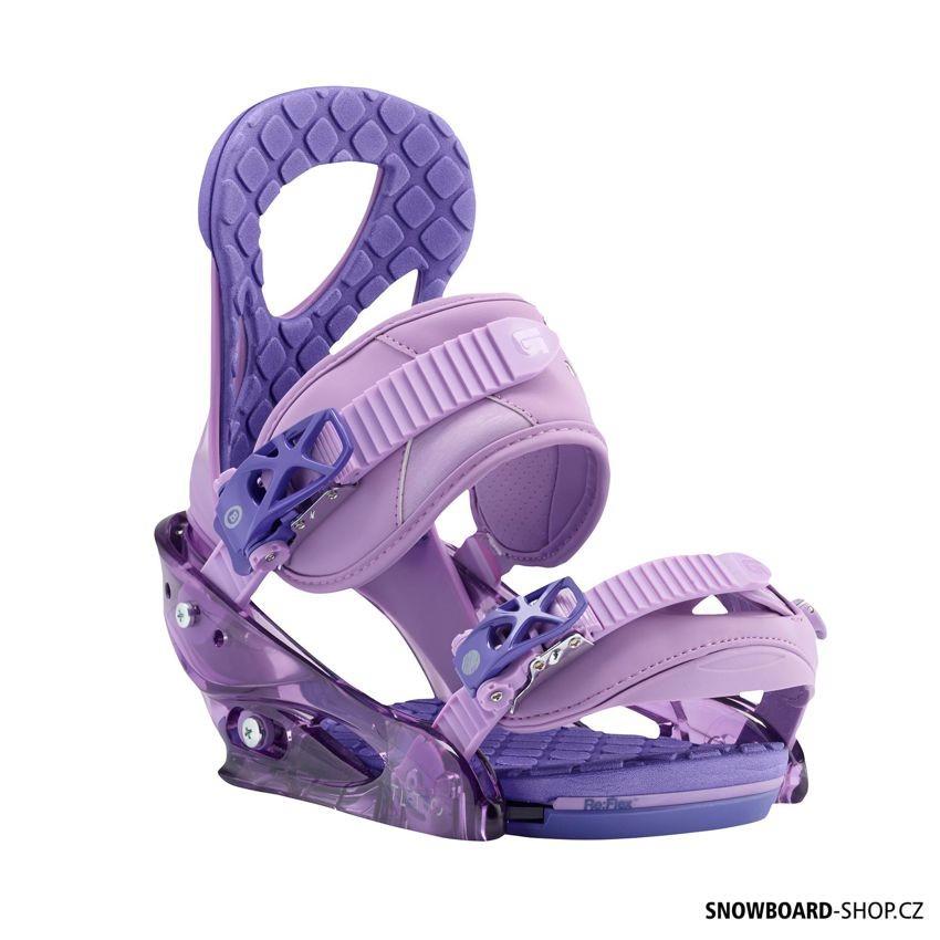 Dámské vázání Burton Stiletto purple 2017