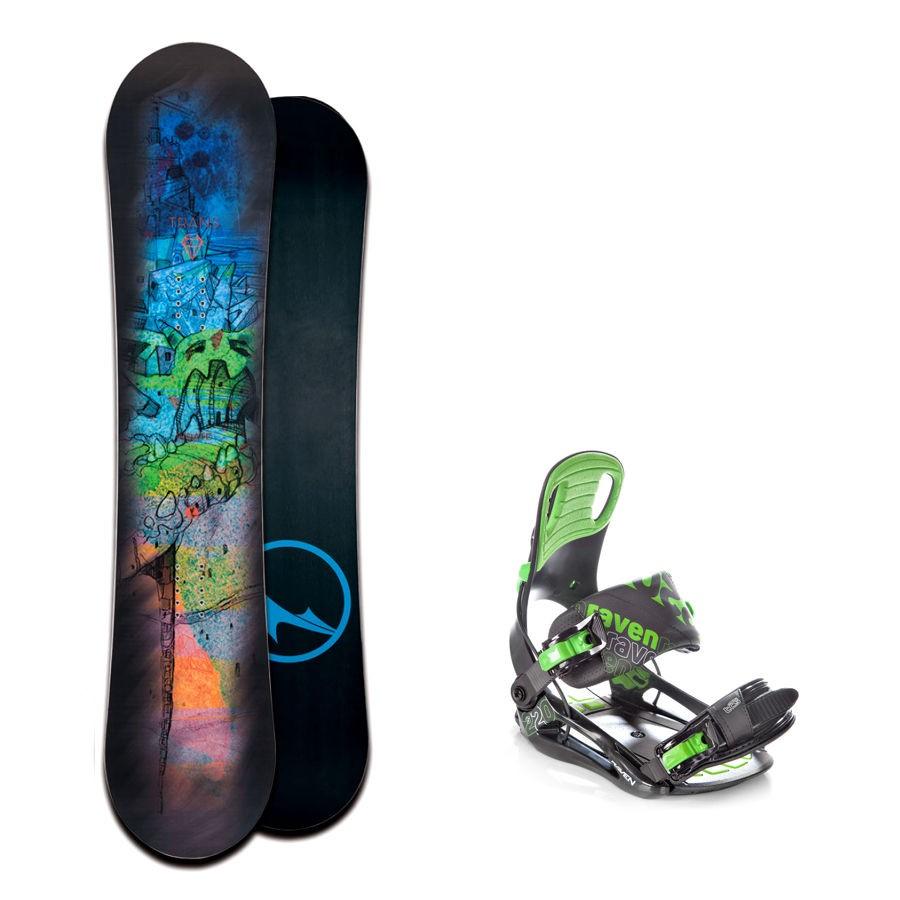 Dětský snowboard komplet Trans Pirate + vázání Raven