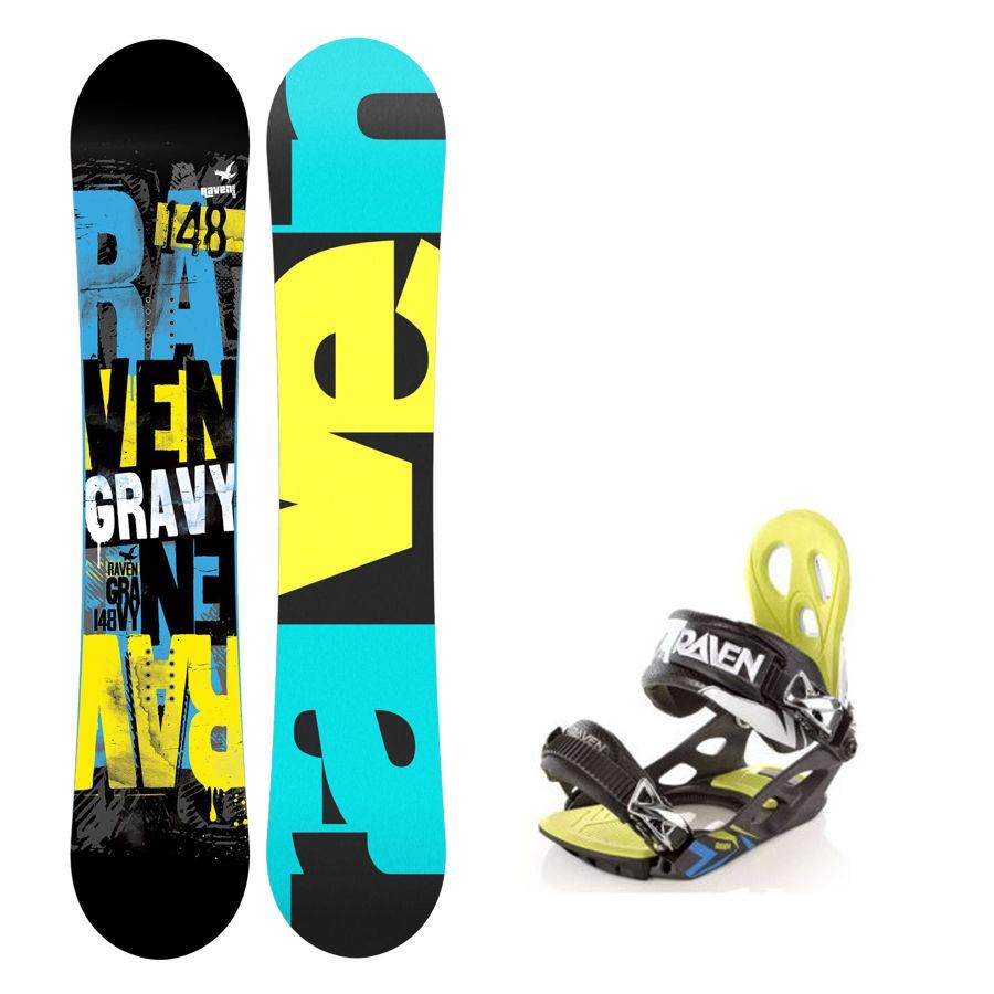Dětský snowboard komplet Raven Gravy + vázání Raven