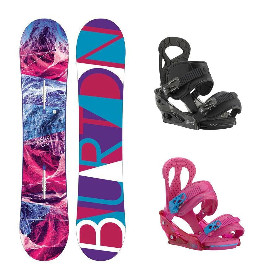 Dětský snowboard komplet Burton Feelgood + vázání Burton