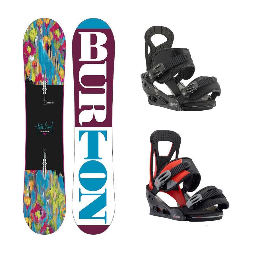 Dětský snowboard komplet Burton Feelgood 15/16 + vázání Burton