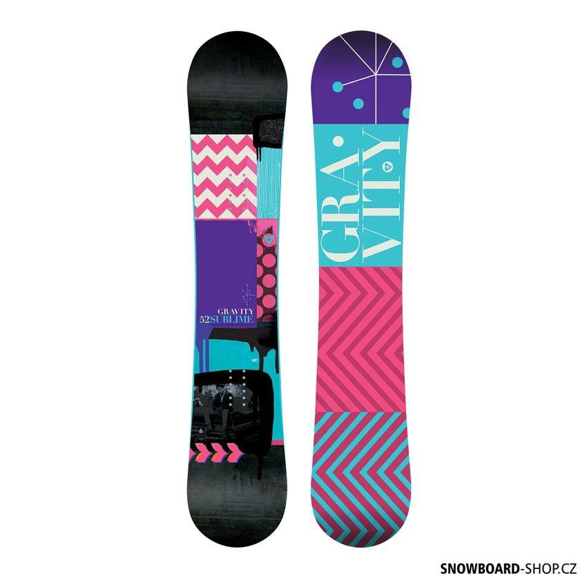 Snowboard Gravity Sublime 2017