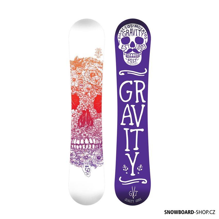 Snowboard Gravity Mist 2017