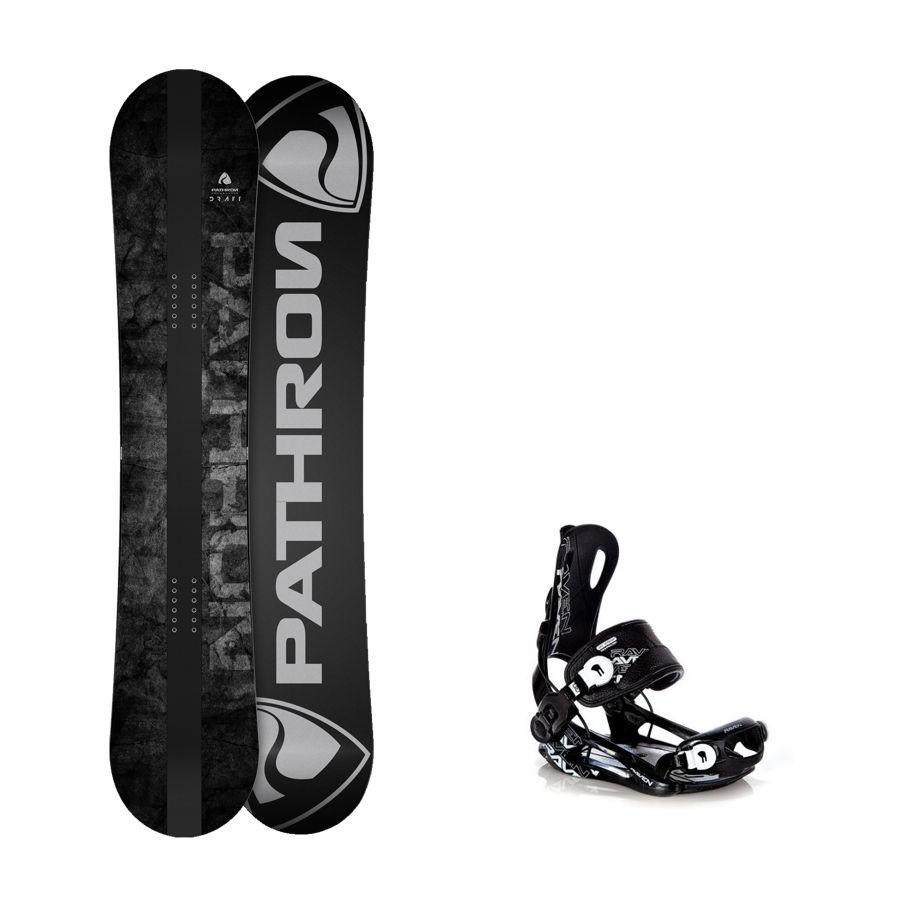 Snowboard komplet Pathron Draft + vázání Raven Fastec