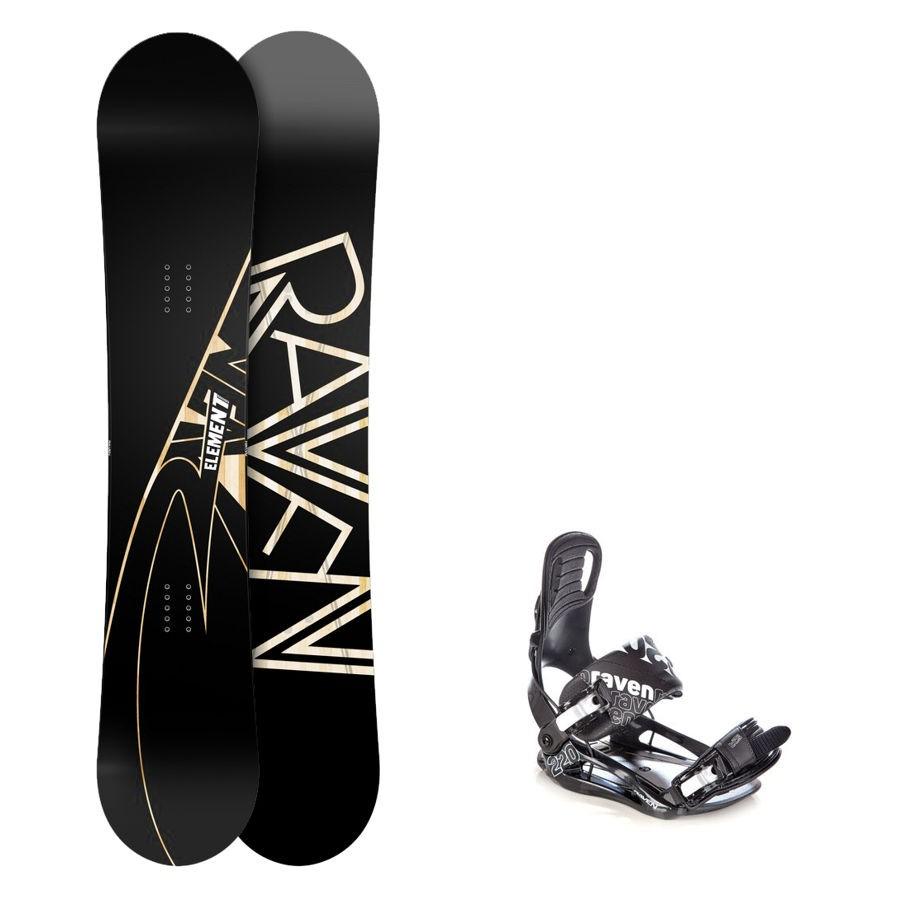 Snowboard komplet Raven Element + vázání Raven