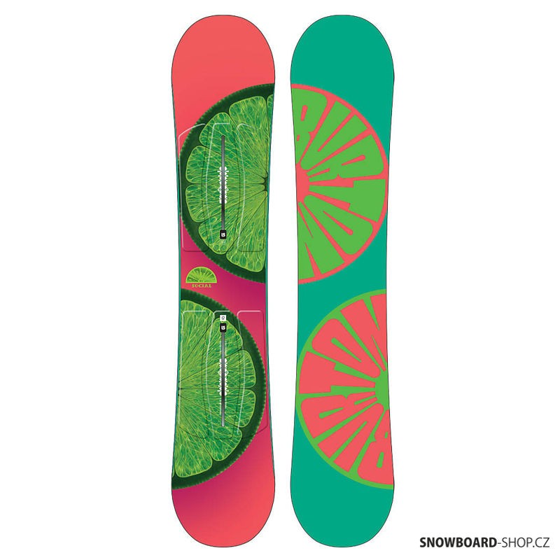 Snowboard Burton Social 15/16