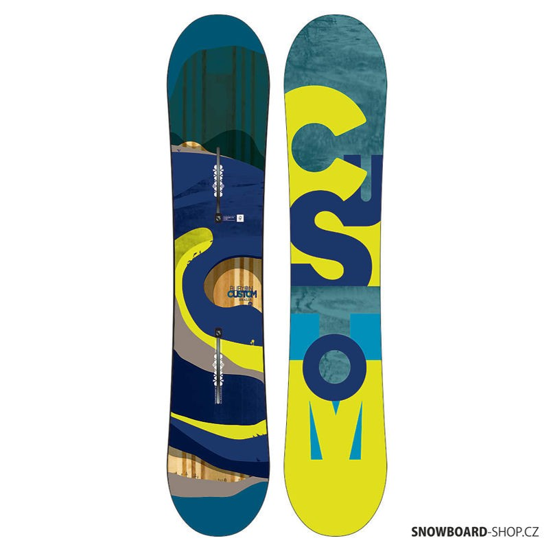 Snowboard Burton Custom smalls 15/16