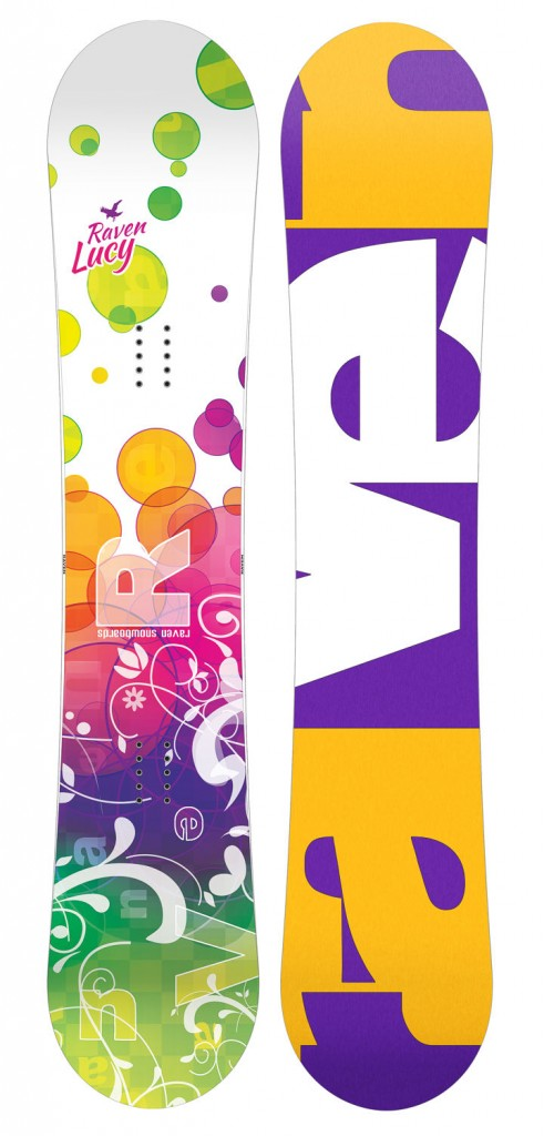 Snowboard Raven Lucy