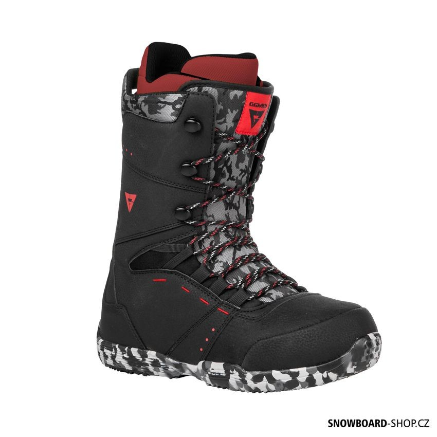 Snowboard boty Gravity Manual black/red