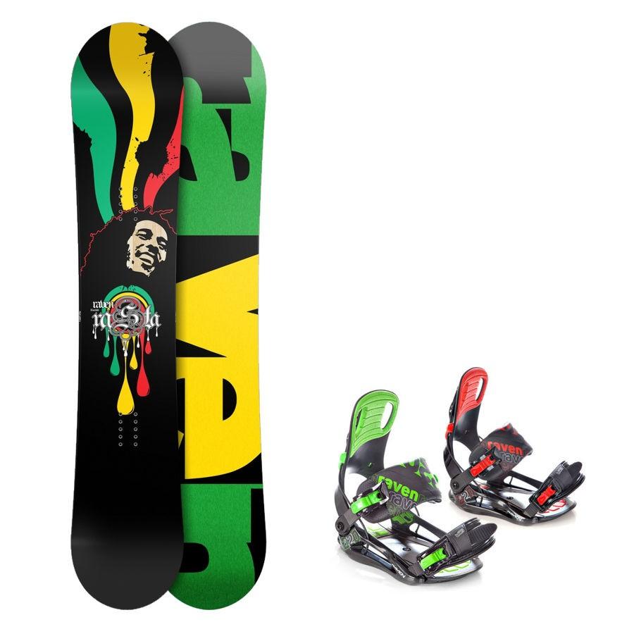 Snowboard komplet Raven Rasta + vázání Raven