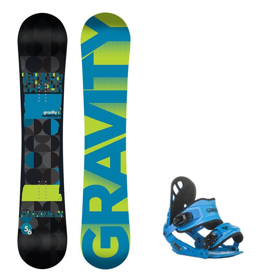 Snowboard komplet Gravity Adventure + vázání Gravity