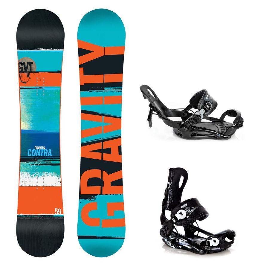 Snowboard Gravity Contra 16/17 + vázání Fastec