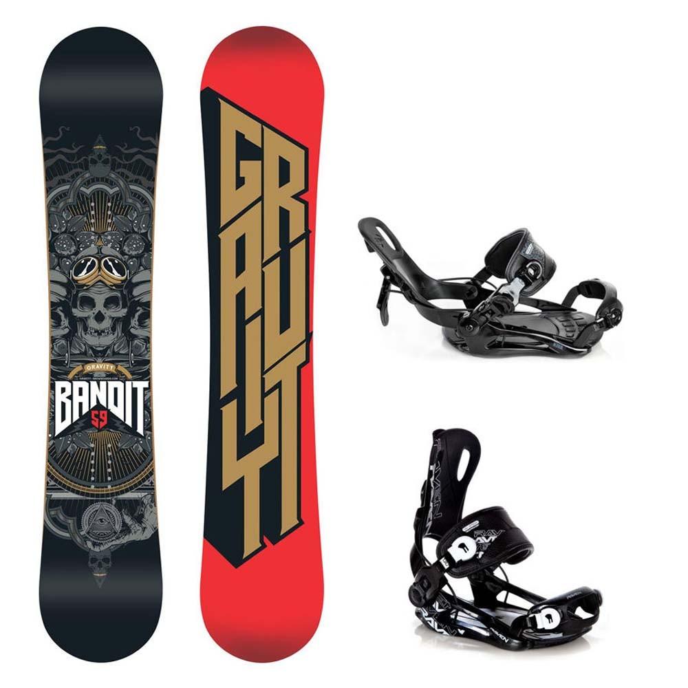 Snowboard Gravity Bandit 16/17 + vázání Fastec