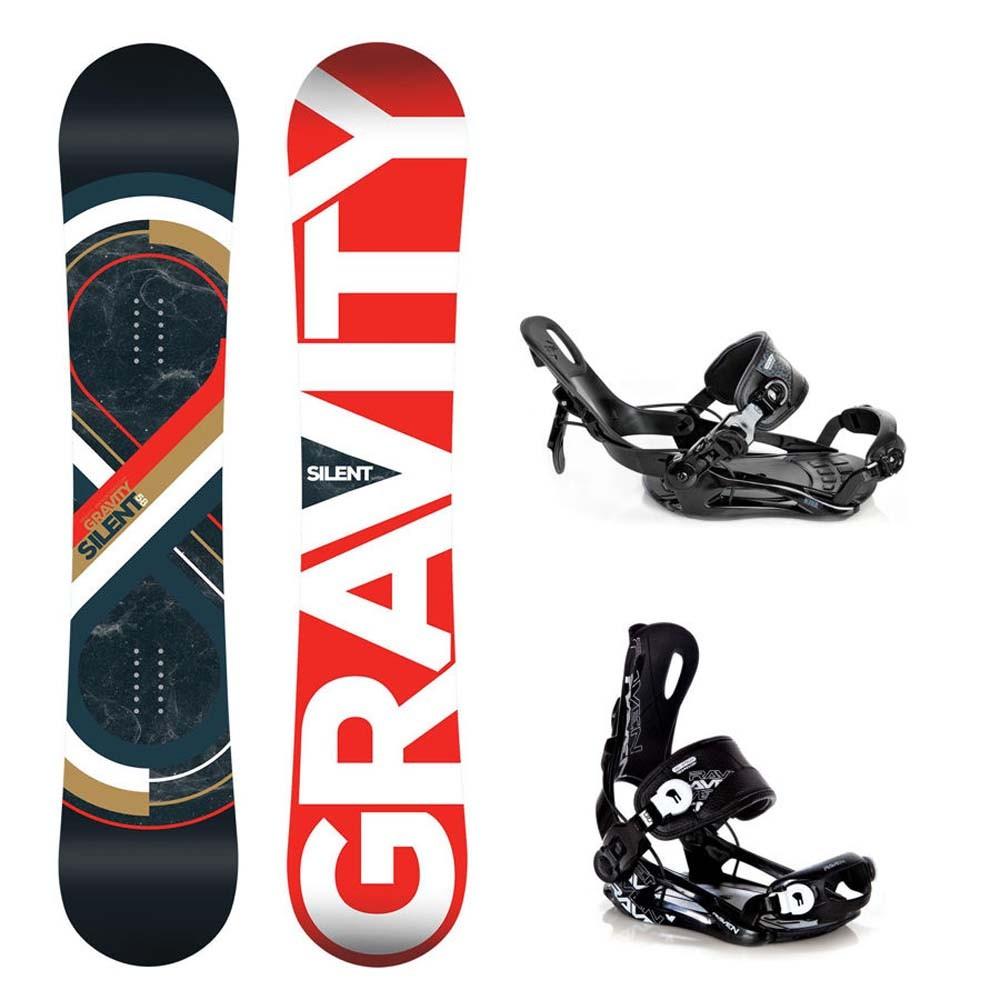 Snowboard Gravity Silent 16/17 + vázání Fastec