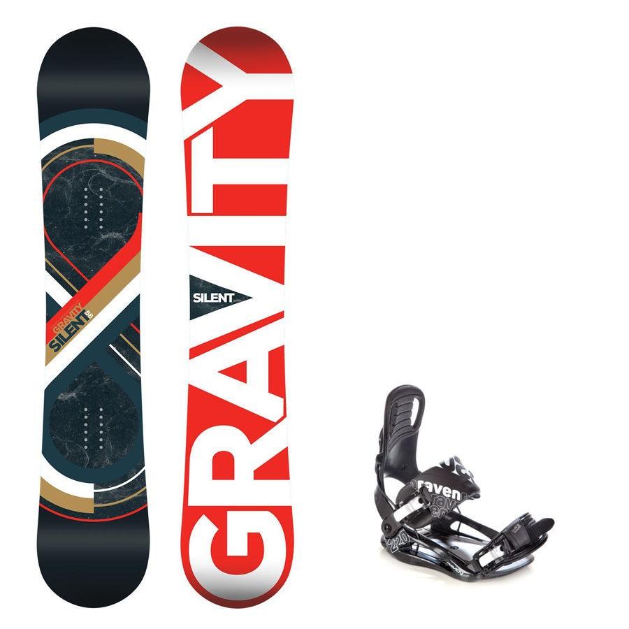 Snowboard Gravity Silent 16/17 + vázání s220