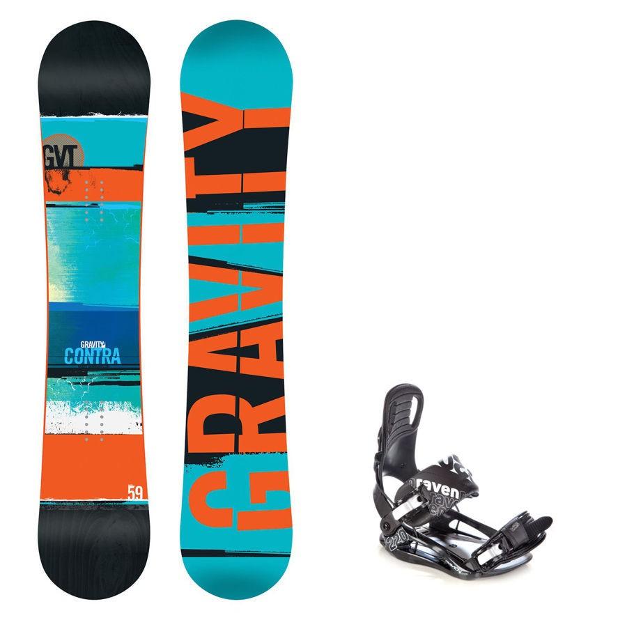 Snowboard Gravity Contra 16/17 + vázání s220