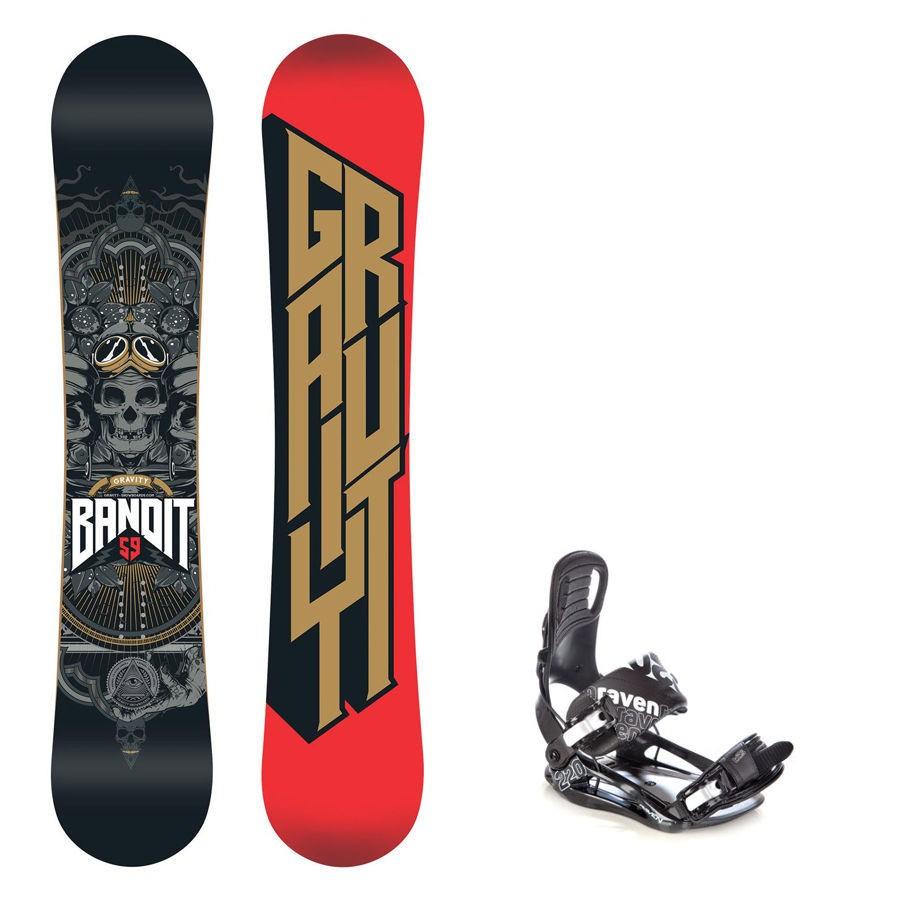 Snowboard Gravity Bandit 16/17 + vázání s220