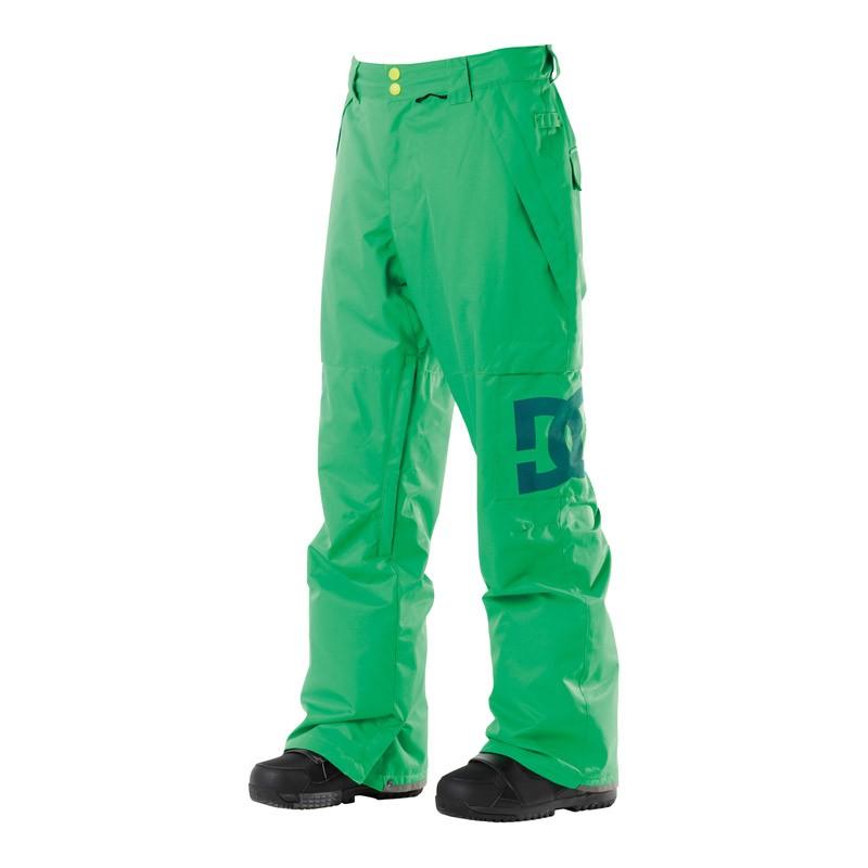 Kalhoty na snowboard DC Banshee emerald