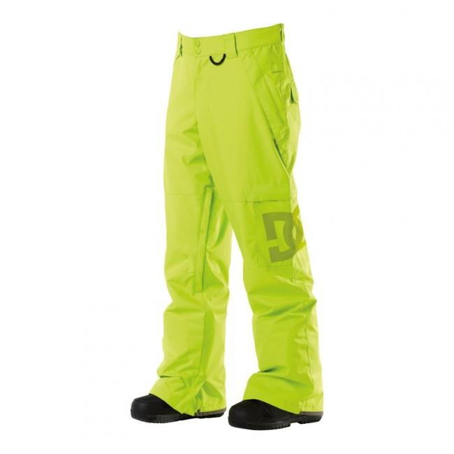 Kalhoty na snowboard DC Banshee lime