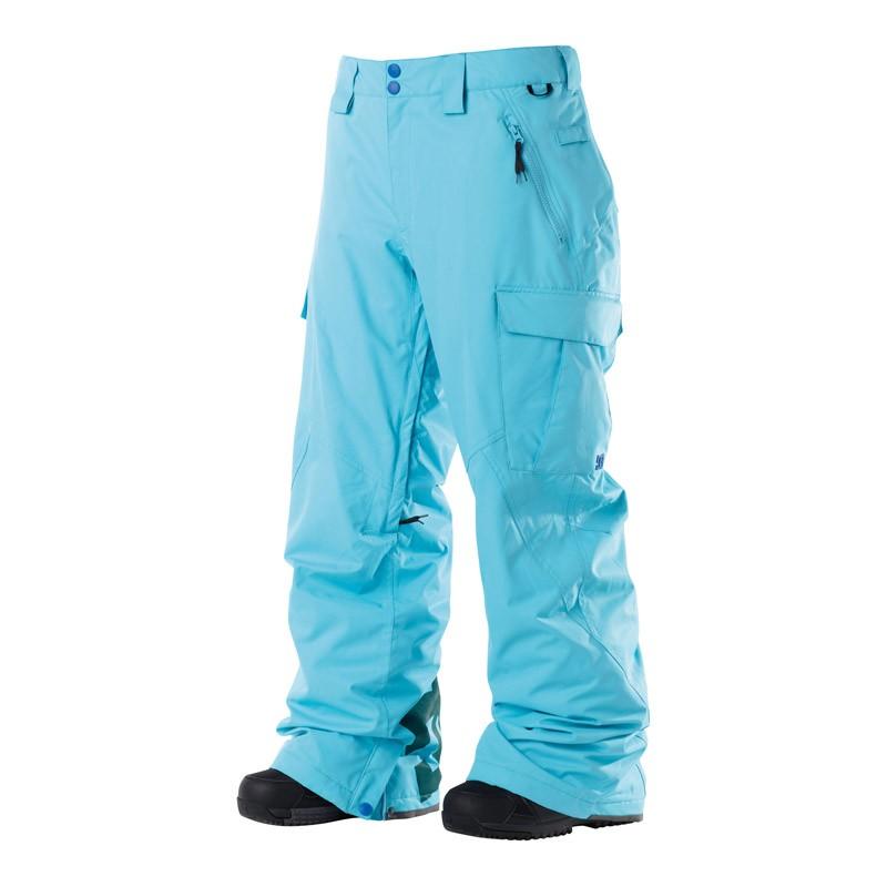 Kalhoty na snowboard DC Donon blue toll