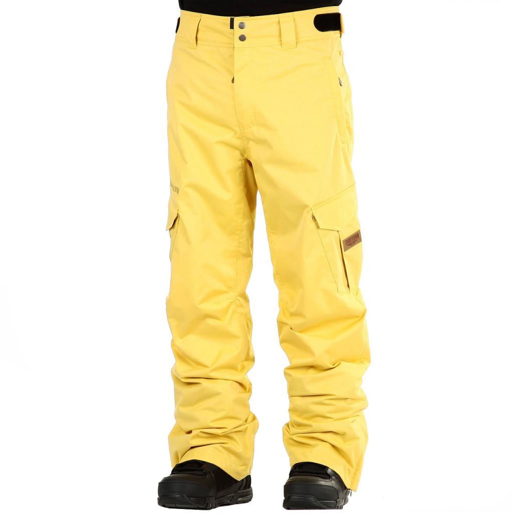 Kalhoty na snowboard Funstorm Navigator yellow