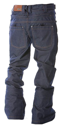 Kalhoty na snowboard Nugget Torque (jeans design)