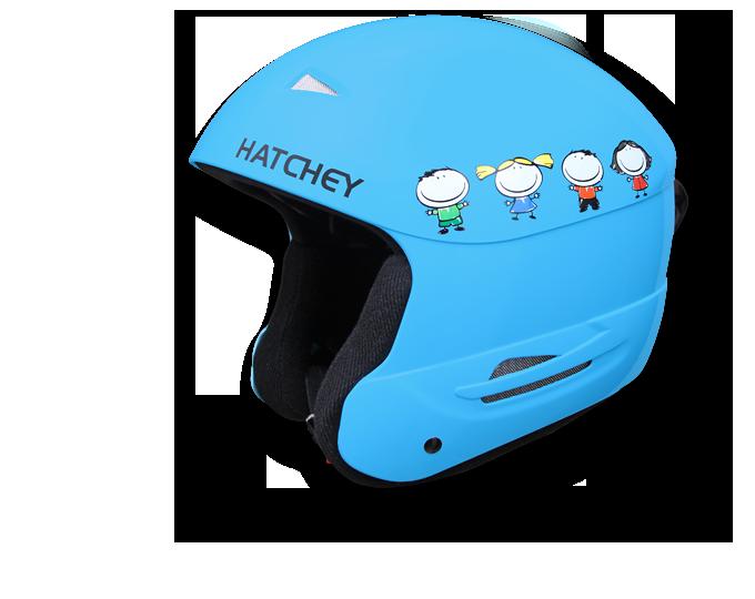 Dětská helma Hatchey Swan blue