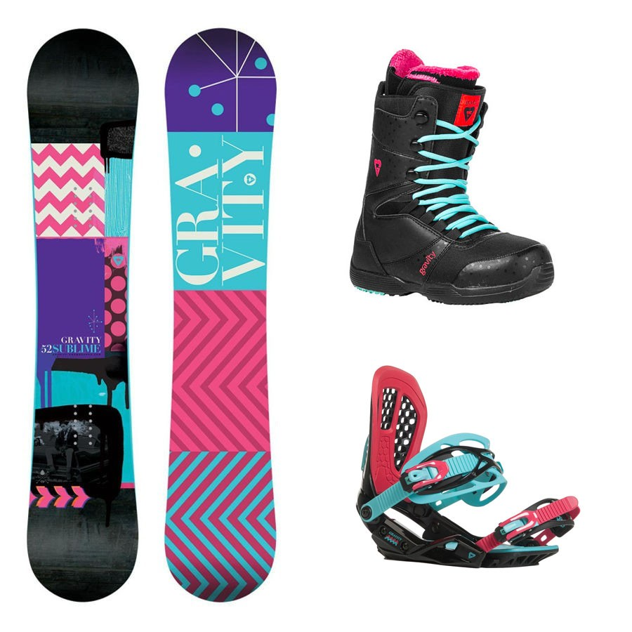 Snowboard komplet Gravity Sublime