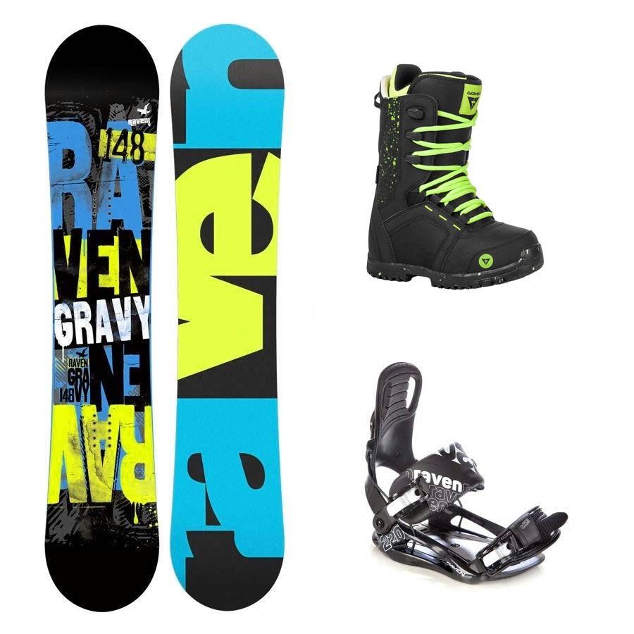 Dětský snowboard komplet Raven Gravy