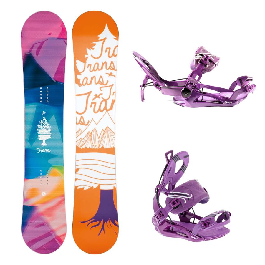 Snowboard komplet Trans FE + vázání SP