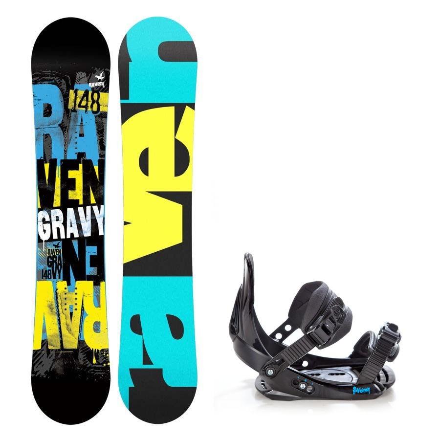 Dětský snowboard komplet Raven Gravy + vázání Salomon