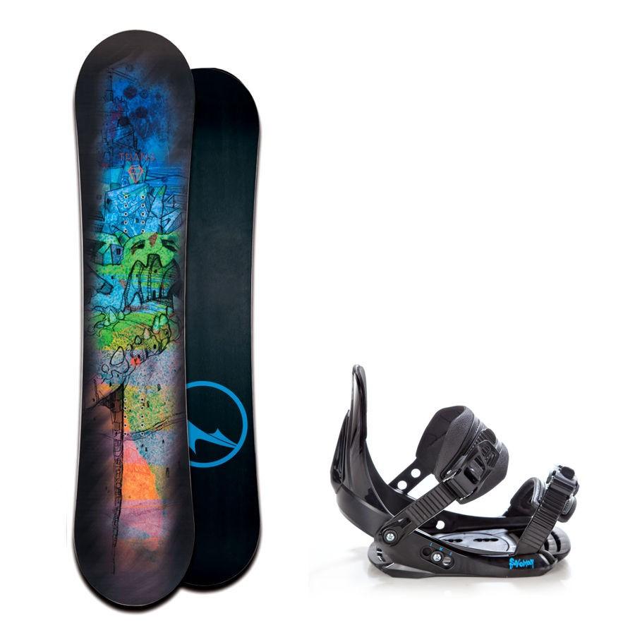 Dětský snowboard komplet Trans Pirate + vázání Salomon