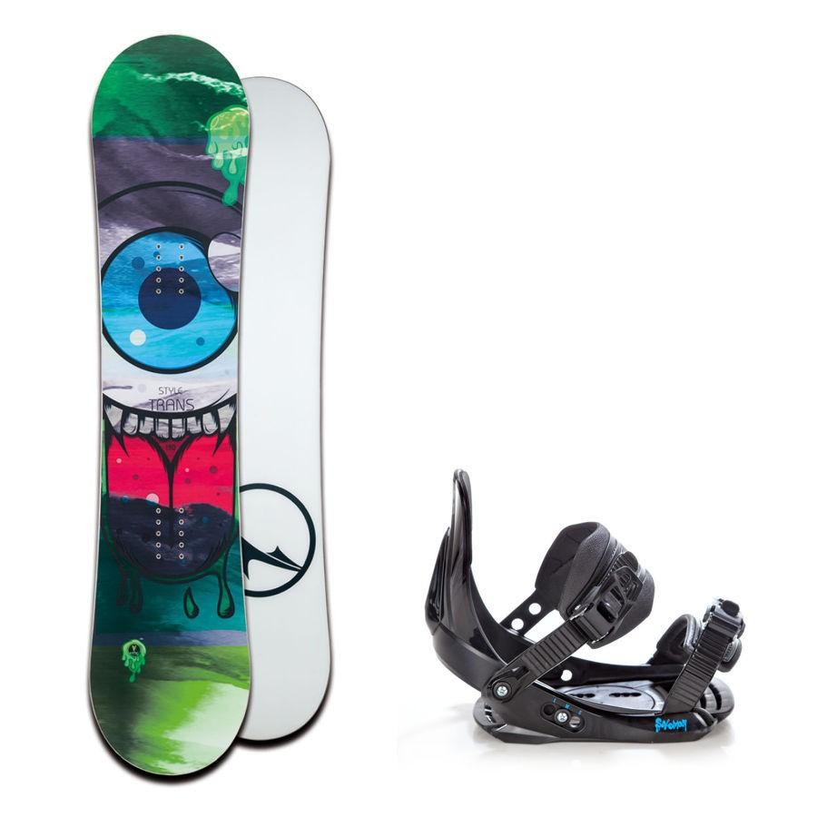 Dětský snowboard komplet Trans Style + vázání Salomon