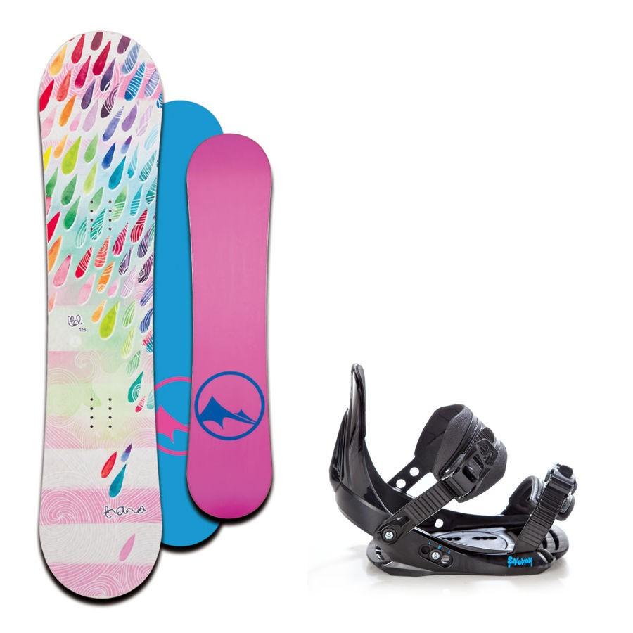 Dětský snowboard komplet Trans LTD drops + vázání Salomon
