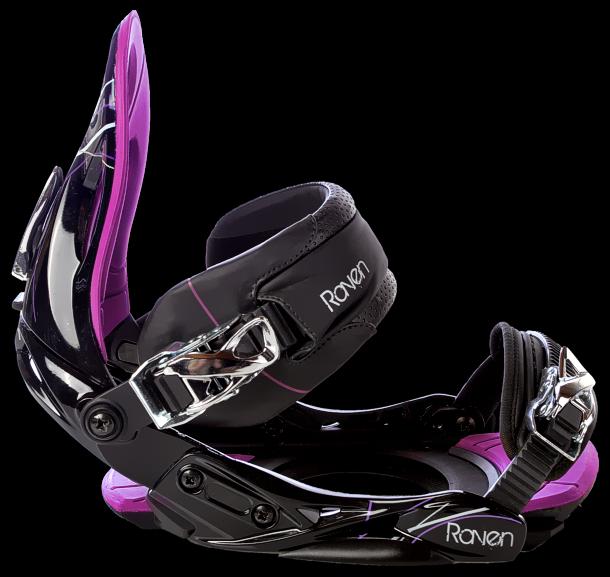Snowboard vázání Raven s350 purple