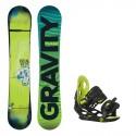 Dětský snowboard komplet Gravity Flash + vázání Gravity